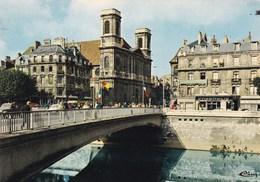 LE PONT BATTANT SUR LE DOUBS ET L'EGLISE DE LA MADELEINE (dil423) - Besancon
