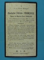 Félicie Françoise épse Françoise Finnevaux 1881 1933 - Devotion Images