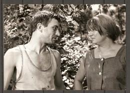 PHOTO 1966 - DOMINIQUE DAVRAY JEAN CLAUDE ROLLAND - TV FILM L'ESPAGNOL JEAN PRAT - Famous People