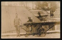 FOTOKAART VAN GROOT KANON - 1914-18
