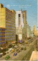 STREET/CALLE SAN JUAN DE LETRAN MEXICO POSTAL CARD COLOR CIRCULADO/CIRCULATED - LILHU - Mexico