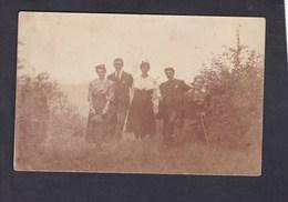 Carte Photo Portrait Groupe Archives Famille Felix Archen Marange Silvange - Otros Municipios