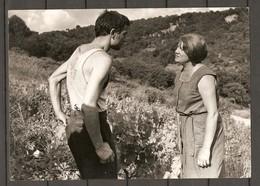 PHOTO SFP Sté FRANCAISE DE PRODUCTION1966 - DOMINIQUE DAVRAY JEAN CLAUDE ROLLAND - TV FILM L'ESPAGNOL JEAN PRAT - Famous People