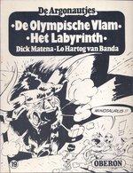 Oberon Zwartwit 19: De Argonautjes - De Olympische Vlam/Het Labyrinth (Dick Matena Lo Hartog Van Banda) [1978] - Oberon Strips