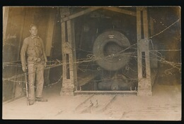 FOTOKAART VAN GROOT KANON  - - 1914-18