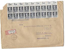 Bayern Einschreiben Brief 1917 Registered Cover - Bavaria
