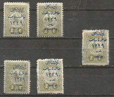 Turkey - 1911 Visit To Macedonia MH *  +1 Used - 1858-1921 Ottoman Empire