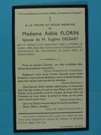 Adèle Florin épse Dessart Wanze 1864 1938 - Devotion Images