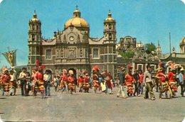 BASILICA DE GUADALUPE / THE SHRINE OF GUADALUPE POSTAL CARD COLOR - LILHU - Mexico