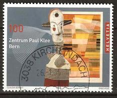 Zu 1165 / Mi 1922 / YT 1851 Art Paul Klee Obl. KIRCHLINDACH 26.1.06 Voir Description - Switzerland