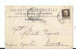 VITTORITO (AQUILA) SALVATORE PERRICELLI VITICULTURA MODERNA VIAGG 1930 - L'Aquila