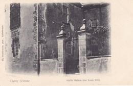 Vienne - Civray - Vieille Maison (rue Louis XIII) - Civray