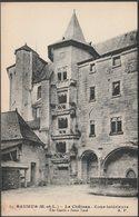 Cour Intérieure, Le Château, Saumur, C.1910 - Dupre CPA - Saumur