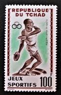 JEUX SPORTIFS 1962 - NEUF ** - YT PA 8 - MI 91 - Tchad (1960-...)