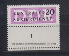 DDR Dienst B Michel Kat.Nr.   Postfr/** IIL DV - [6] République Démocratique