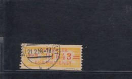 DDR Dienst B Michel Kat.Nr.  17B - [6] République Démocratique