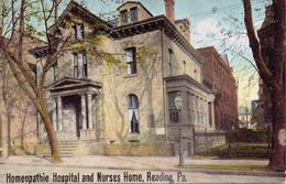 Alte  AK  READING / Pennsylvania / USA   - Homeopathie Hospital Etc. - Ca. 1930 - Other