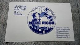 Buvard La Créme De Gruyère Mère Picon St Félix Haute Savoie - Buvards, Protège-cahiers Illustrés