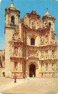BASILICA DE LA SOLEDAD FACHADA PRINCIPAL/ THE MAIN FACADE TO THE BASILICA OAXACA MEXICO POSTAL CARD COLOR - LILHU - Mexico