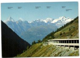 Am Simplonpass Mit Walliser Alpen - VS Wallis