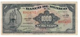 Mexico 1000 Pesos 29/12/1972 - Mexique