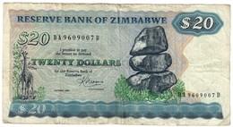 Zimbabwe 20 Dollars 1983 - Zimbabwe