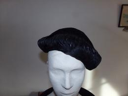 Bibi En Plumes Noires Taille Environ 58 - Coiffes, Chapeaux, Bonnets