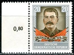 DDR - Mi 425 - ** Postfrisch (B) - 20Pf        Jossif W. Stalin - [6] République Démocratique