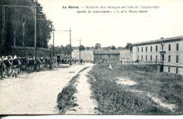 N°67236 -cpa Le Havre -rentrée Des Troupes Au Fort De Tourneville Après La Manoeuvre- - Otros