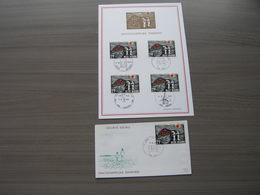 """BELG.1970 1555 FDC Filateliacard & FDC """"25 Ans De La Sécurité Sociale En Belgique- 25 Jaar Maatschappelijke Zekerheid.."""" - FDC"""