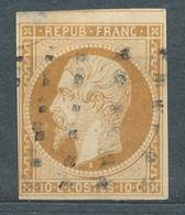 N°9 OBLITERATION GROS POINTS - 1852 Luis-Napoléon