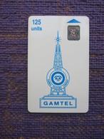 GAM-04 Blue Logo,Batch Number: 43532 - Gambia