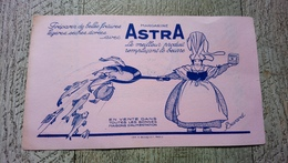 Buvard Margarine Astra - Alimentaire