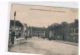 CPA LOGUIVY PLOUGRAS Place St Emilion - Francia