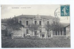 Cpa - 11 -     Corbieres  Le Groupe Scolaire - Francia
