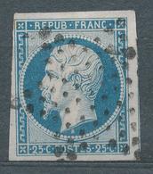 N°10 NUANCE ET OBLITERATION. - 1852 Louis-Napoléon