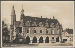 Rathaus, Goslar, Niedersachsen, C.1920 - Lederbogen Foto-AK - Goslar