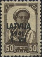 Lettland (Dt.Bes.2.WK.) 6 MNH 1941 Latvija - Occupazione 1938 – 45