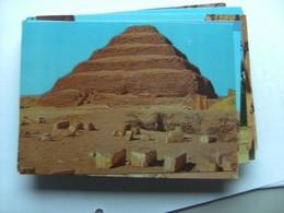 Egypte Egypt Sakkara King Zoser S Step Pyramid - Piramiden