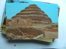 Egypte Egypt Sakkara King Zoser S Step Pyramid Nice - Piramiden