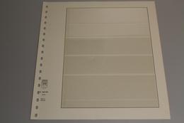 Lindner, T-Blanko-Blatt 802504, 5 Taschen 41x31x41x40x52 Mm, Breite 189 Mm - Albums & Reliures