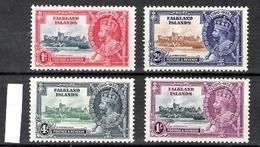 Falkland Islands 1935 Silver Jubilee MLH CV £48 (2 Scans) - Falkland Islands