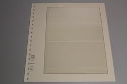 Lindner, T-Blanko-Blatt 802304, 3 Taschen 65 X 64 X 88 Mm, Breite 189 Mm - Albums & Reliures