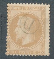 N° 28 OBLITERATION RURALE - 1863-1870 Napoléon III Con Laureles
