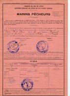 CARTE DE REMISE DE 3è CLASSE DES CHEMINS DE FER DE L'ETAT DE REDON A ST MALO POUR UN MARIN QUI VA PECHER A TERRE-NEUVE - Transportation Tickets