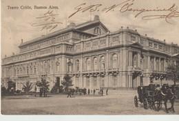 C.P.A. - TEATRO COLON - BUENOS AIRES - 245 - CARMELO IBARRA - CALÈCHE - - Argentine
