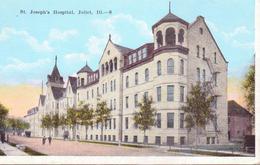 Alte  AK  JOLIET / Illinois / USA   - St. Joseph's Hospital - Ca. 1920 - Joliet