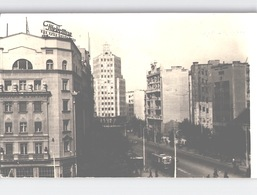 BEOGRAD Tepaanhje Photo Card With Old Bus Sent 1956 - Jugoslawien