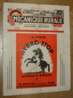 Le Moniteur De La Mécanique Rurale, Numéro Spécial Salon 1949 - Vieux Papiers