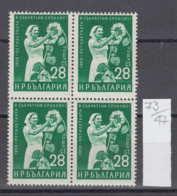 47K73 / 1177 Bulgaria 1959 Michel Nr. 1148 - KÜNSTLICHES BESTÄUBEN VON SONNENBLUMEN Common Sunflower - Agriculture